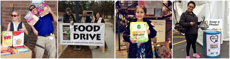 Food Drives Collage