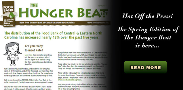 Hunger Beat Spring 2013