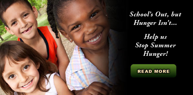 Stop Summer Hunger Food & Funds Drive